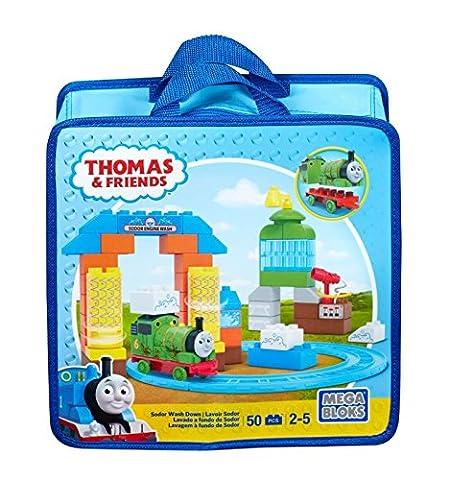 Thomas & Friends - Sodor Wash Down - 50 pcs - Mega Bloks