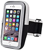 Skynow iPhone 7 Plus Armband,Cell Phone Pouch iPhone 7 Plus Running Armband Water Resistant Sports Arm Band Gym Wrist Bag Touchscreen Sleeve Case with Extensible Belt for iPhone 7 Plus. (Black)