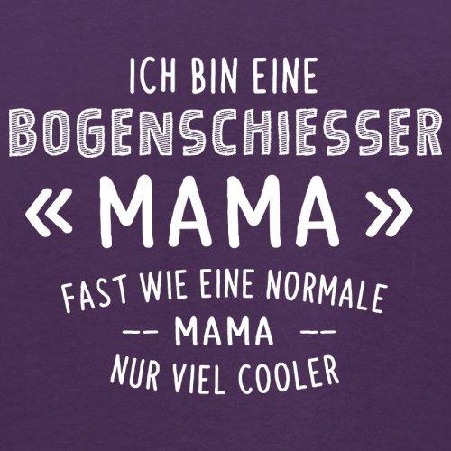 Ich bin eine Bogenschiesser Mama - Herren T-Shirt - 13 Farben Lila