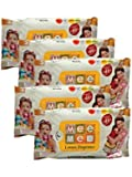 Mee Mee Baby Wet Wipes with Lemon Fragrance - 30pcs MM-33017 (Pack of 5)