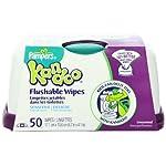 Pampers Kandoo Flushable Toddler Wipes Sensitive Tub - 50 Ea