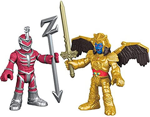 Fisher-Price – Imaginext – Power Rangers : Mighty Morphin – Goldar & Seigneur Zedd – 2 Mini