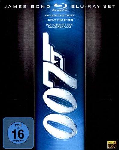 James Bond Collection [Blu-ray] [Collector's Edition] (Bond Box-set-dvd-james)