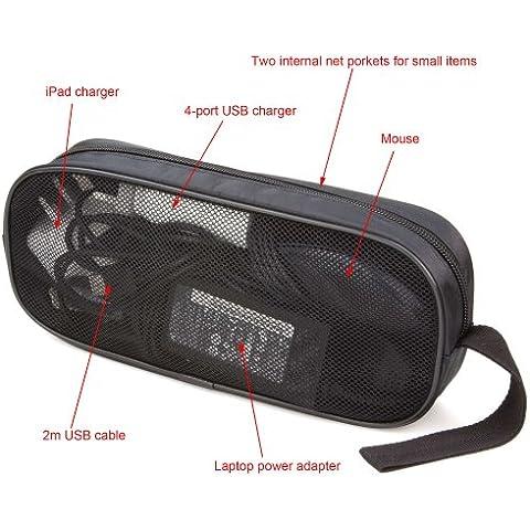 ButterFox - Bolsa de transporte de accesorios electrónicos