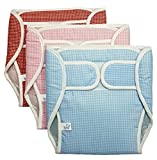 GoodStart Reusable Baby Diapers with Waterproof Inner Layer and Cotton Outside with Sticking