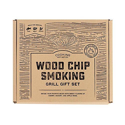 Kochen Geschenk-Set BBQ Smoker Holz Chip Grill Set für die Jungs | 4. Juli Grillen (4. Juli Ideen Für Die Party)
