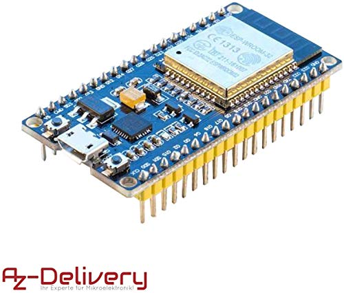 AZDelivery ESP32 NodeMCU Modulo WiFi Development Board WiFi con CP2102 per Arduino e con eBook