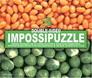 Impossipuzzle: Beans and Sprouts - Double-Sided Jigsaw Puzzle, 550 Pieces