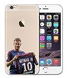 Coque iPhone 5/5S SE Neymar Brésil PSG Football Maillot Présentation Numéro 10