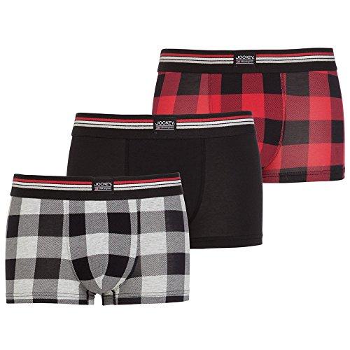 Jockey® Short Trunk 3Pack Hawaiian Red