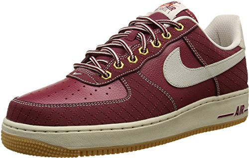 Nike Air Force 1, Scarpe sportive, Uomo, Rosso (Team Red/Lght