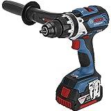 "Bosch GSR 18 VE-EC Negro, Azul - Taladro (Taladro de pistola, perforacion, Desatornillar, Negro, Azul, 1/2"", 1,2 cm, 8,2 cm)"