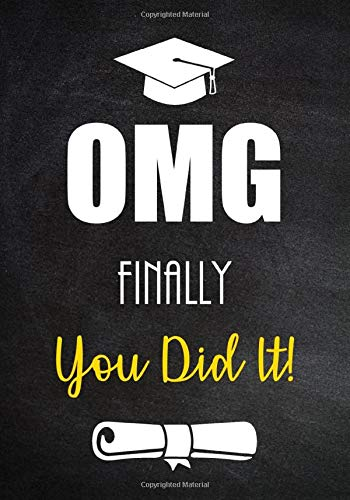 d It!: Funny Graduation Gift for Him or for Her - Lined Journal - Notebook With Inspirational Quotes (Funny Graduation Gifts, Band 2) ()