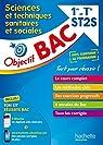 Objectif Bac - STSS 1ère et Term ST2S par Céléguègne