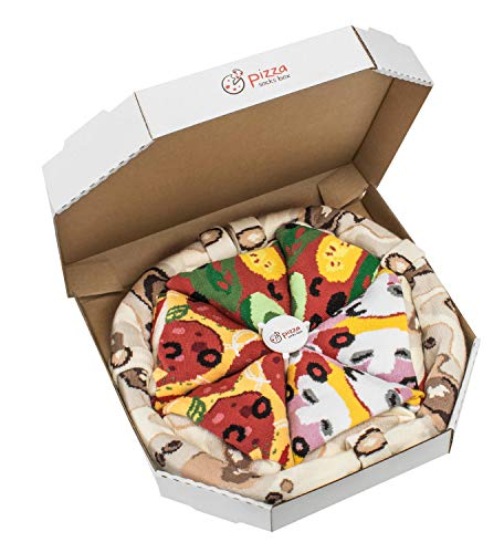 PIZZA SOCKS BOX - Pizza MIX Caprichosa Vege Pepperoni