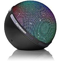Expower Flash Dancing LED 5W Altoparlante Bluetooth 4.1 Wireless Portatile, Connessione di 2 Speaker Realizza Canale Sinistro Destro Stereo, Luce Lampeggiante Casse Acustiche per Festival Feste Party Ballo
