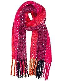 580ecae9754 Amazon.fr   Plaid écossais - Châles   Echarpes et foulards   Vêtements