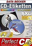 CD-Etiketten XXL hochglänzend. 30 CD-Etiketten