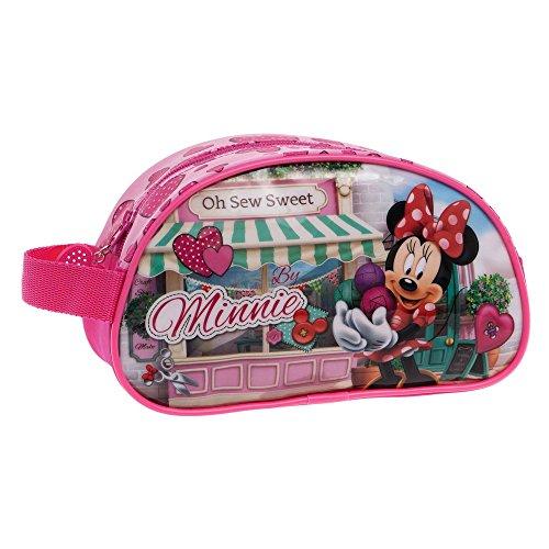 Disney Trousse de Toilette Adaptable Minnie Sew Vanity, 26 cm, Multicolore