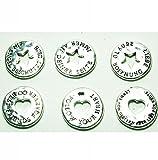 6 x Schutzengel-Münze - Talisman - Gastgeschenk Münzen Glücksbringer Gastgeschenk