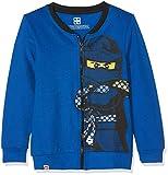 Lego Wear Jungen Sweatjacke Lego Boy Ninjago CM-73121, Blau (Blue 569), 152