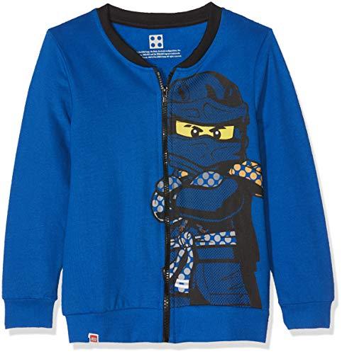Lego Wear Jungen Lego Boy Ninjago CM-73121 Sweatjacke, Blau (Blue 569), 110