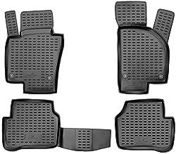 Walser XTR Gummifußmatten kompatibel mit VW Passat (B7) Baujahr 2010-2014