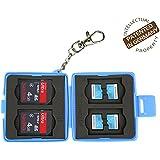 Flashwoife Turtle-SD4MSD8 boîtier pour carte mémoire pour - 4 x SDHC et 8 x microSD