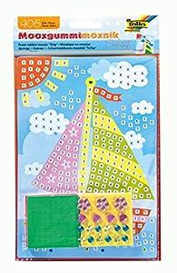 folia 23806-Musgo Goma Mosaico de Barco, 405Piezas