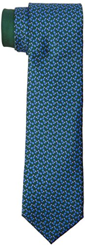 thomas-pink-mens-squirell-print-neck-tie-multicoloured-deep-green-blue-one-size