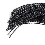 30 Brins de fil professionnel Torsade pour débroussailleuse 4mm 35cm