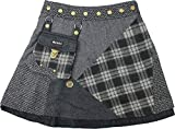 Moshiki Wickelrock Hot Cookie Tweed #9 Short (M688)