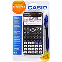 Casio FX-991SPXII + Pilot G2 Blue - Calculadora cientifica mas bolígrafo tinta gel.