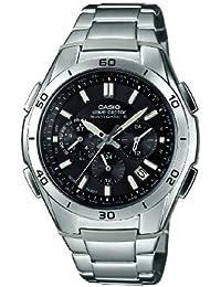 Casio Herren-Armbanduhr XL Wave Ceptor Analog Quarz Edelstahl WVQ-M410DE-1A2ER