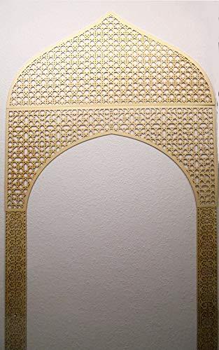 Set 'Orient Tor' aus Dekorpaneelen in 3mm-Sperrholz mit orientalischen Ornamenten