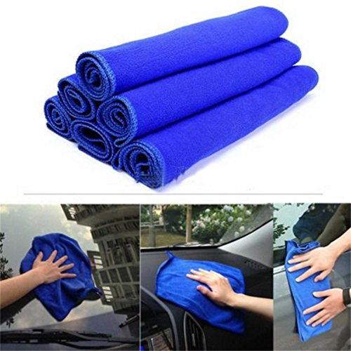 tonsee-3030cm-soft-microfiber-cleaning-towel-car-auto-wash-dry-clean-polish-cloth