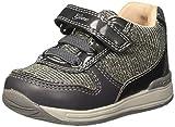 Geox Baby Mädchen B Rishon Girl A Sneaker, Grau (Gun), 19 EU