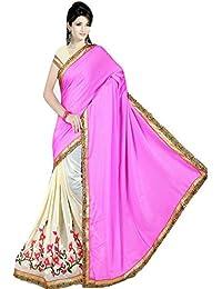 Karishma Women's Marble Saree,K0010_Multicoloured_Freesize