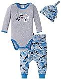 Schiesser Unterwäsche-Set Baby Jungs, 3er Pack, Mehrfarbig (Sortiert 1 901), 74 (Herstellergröße: 074)