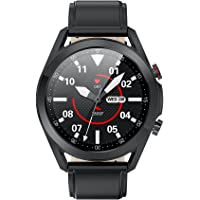 French Connection L19 Series Unisex Smartwatch with Full Touch Screen, Metal case, Bluetooth Calling with mic and…