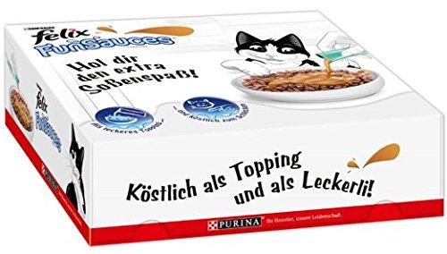 Felix Snacks FunSauces Mixpaket, 6x (5 x 15 g)