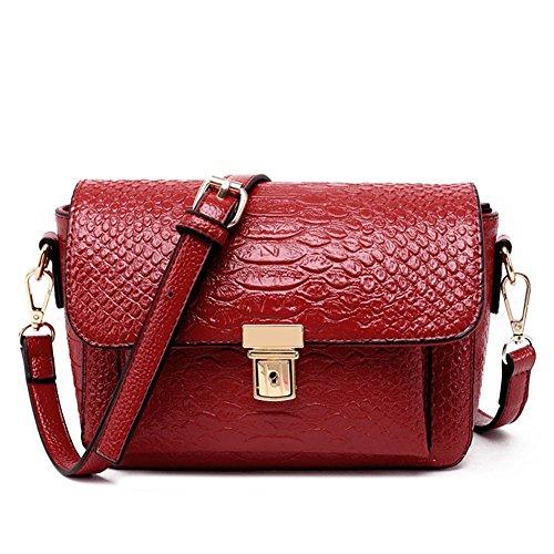 VOLSGEAT Borsa Messenger, Red (rosso) - 8612 Red