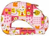 Feeding Pillow Bunny Print - Pink