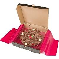 """Gourmet Chocolat Mini 4"""" Pizza. Chocolat au lait belge - Fraise & Champagne 4 """"Pizza"""