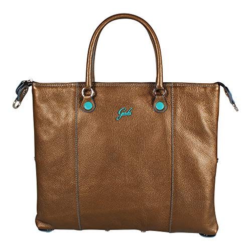 Gabs Damen Handtasche Transformable G3 Tg. M Bronze