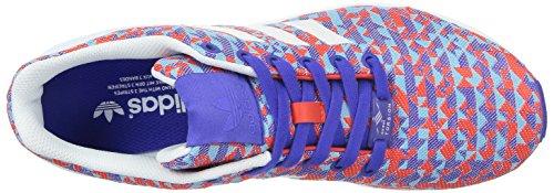 adidas ZX Flux Weave, Senakers a Collo Basso, Unisex Multicolor (night flash s15/ftwr white/core black)