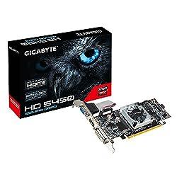 Gigabyte AMD Radeon HD 5450 1GB DDR3 VGA Low Profile PCI-Express Graphics Card GV-R545-1GI Rev2.0