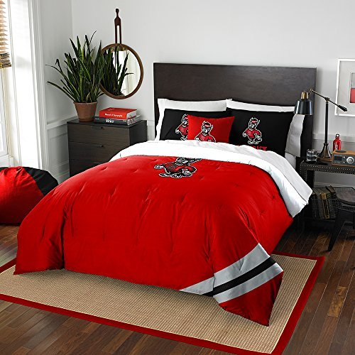 NCAA North Carolina State nor-1col836000080bbb 193cm X 86Wolfpack Full Tröster Set