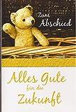 Grußkarte Abschiedskarte Zum Abschied - Alles Gute für die Zukunft | 412054 GKB