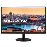 HKC 20A6: 50 cm (20 Zoll) LED-Monitor, Narrow Frame & Ultra-Thin, HDMI & VGA, 60 Hz schwarz
